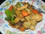 Chicken Stir Fry with Quinoa